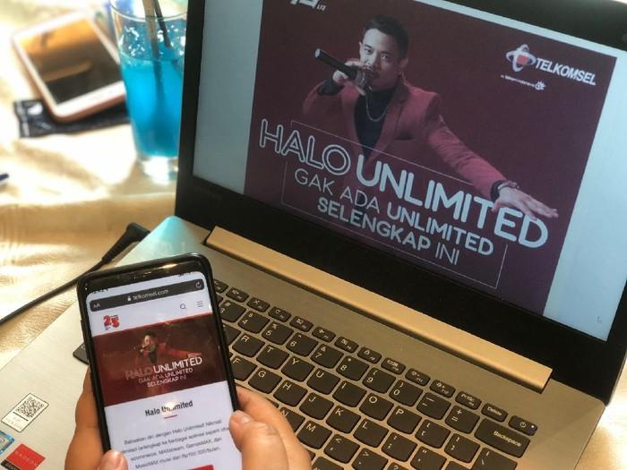 Menyasar kaum milinel yang hobi berselancar di dunia maya, Telkomsel menghadirkan paket Halo Unlimited untuk pelanggan pascabayar Rp 80.000.