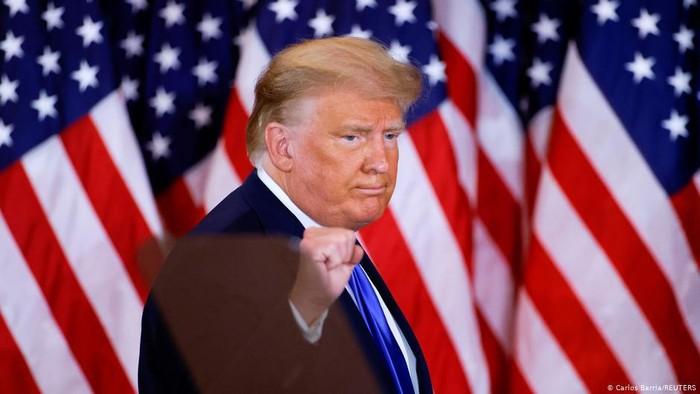 Trump Klaim Kemenangan Usai Rivalnya Biden Suarakan Optimisme