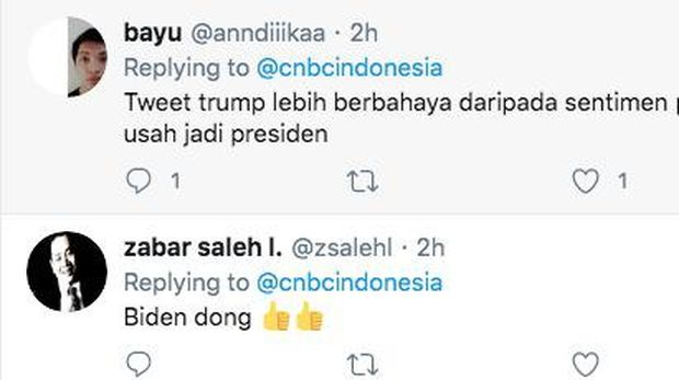 Twitter CNBC Indonesia