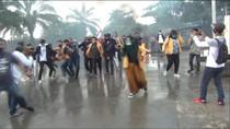 Bawa Senjata Tajam Saat Demo Omnibus Law, Mahasiswa di Kaltim Diamankan