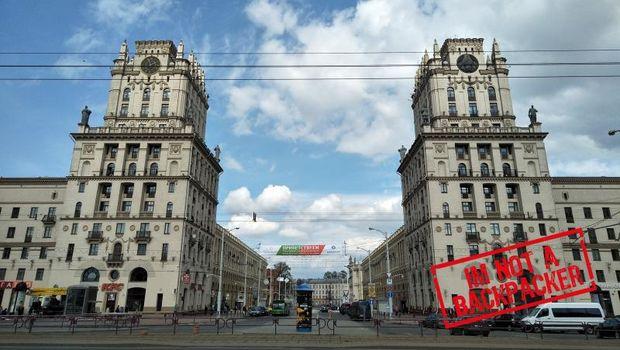 Ibu Kota Belarusia.