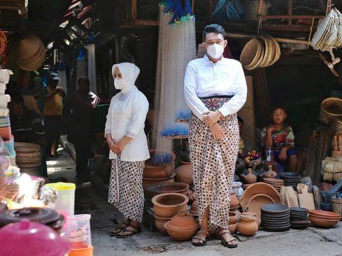 Foto prewedding di Pasar Tradisional