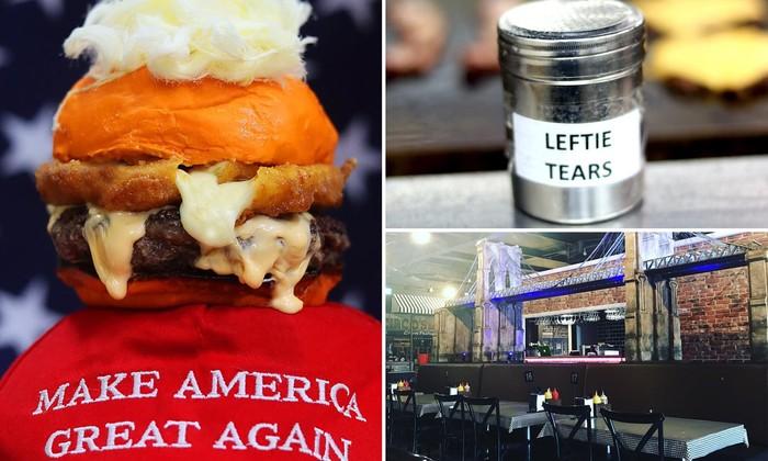 Sajikan Burger Bentuk Wajah Donald Trump, Restoran Ini Malah Dikritik