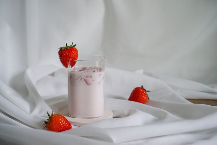 Korean Strawberry Milk Latte