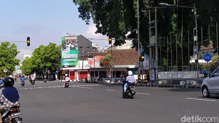 traffic light di kota blitar perdengarkan azan setiap memasuki waktu salat fardhu