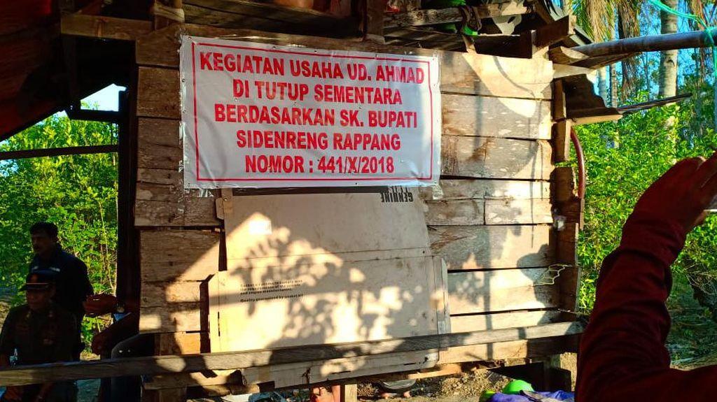 Suasana Mencekam Gegara Tambang Ilegal di Sidrap, Polisi Diminta Bertindak