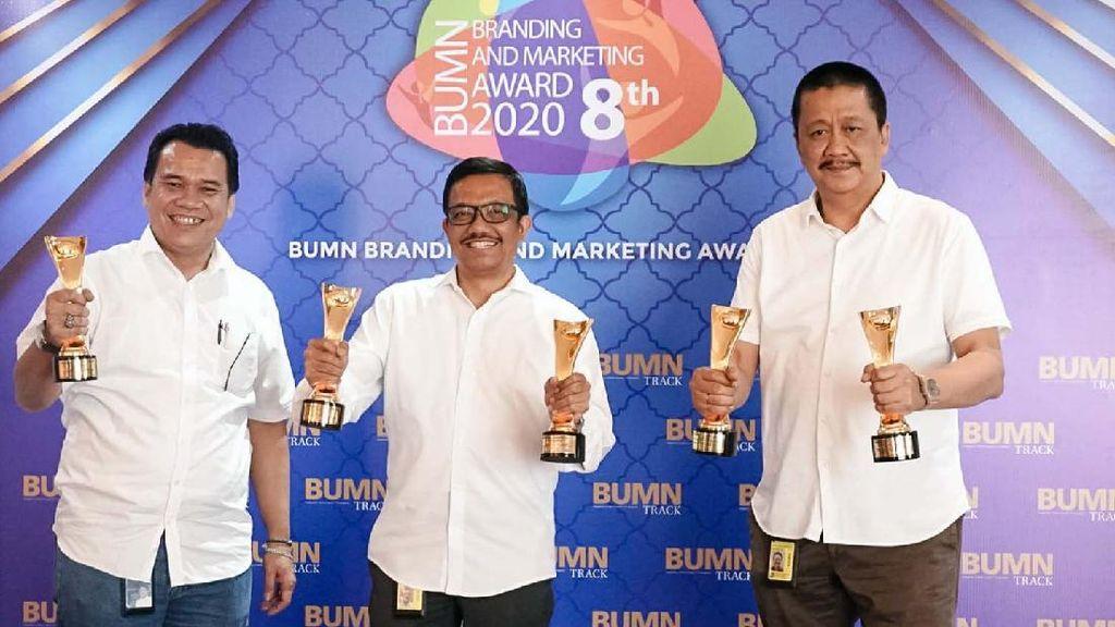 Garuda Indonesia Raih Penghargaan BUMN Branding and Marketing Awards 2020