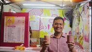 Optimisme Pemilik Usaha Minuman Susu Berjualan di Tengah Pandemi