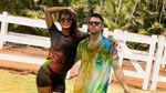 Kemesraan Priyanka Chopra dan Nick Jonas Rayakan Karwa Chauth