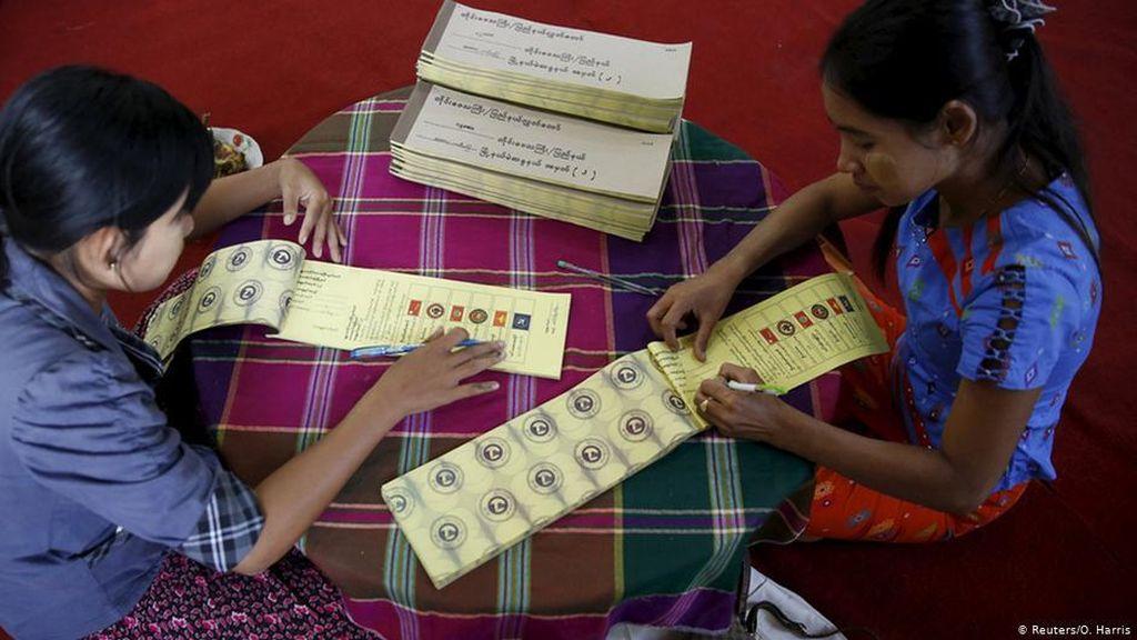 Pemilu di Myanmar Marjinalkan Etnis Minoritas