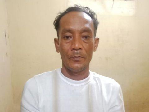 Pria berinisial DZ (46) ditangkap polisi atas kasus pencabulan dengan modus mandi tobat (dok Istimewa)