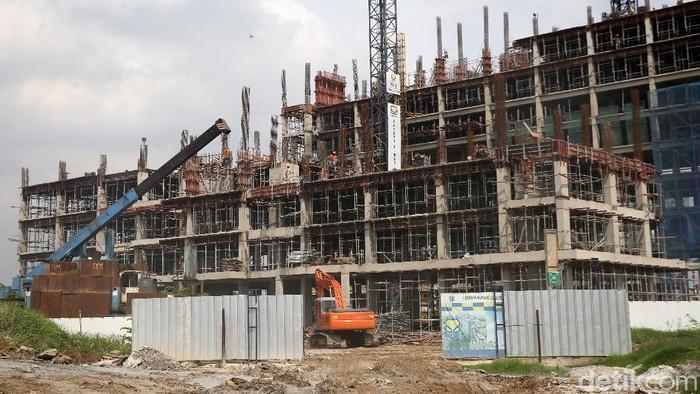 Pembangunan rumah susun sewa (Rusunawa) Ujung Menteng, Jakarta, terus dilakukan. Rusunawa ini diperuntukan bagi warga DKI Jakarta berpenghasilan rendah.