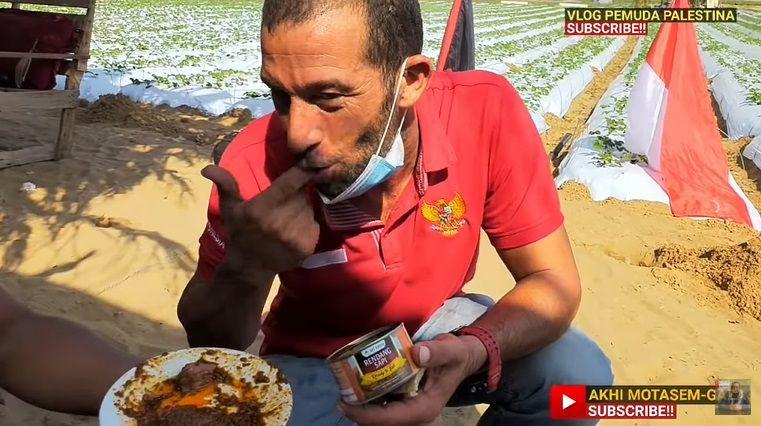 Orang Palestina Cicip Rendang