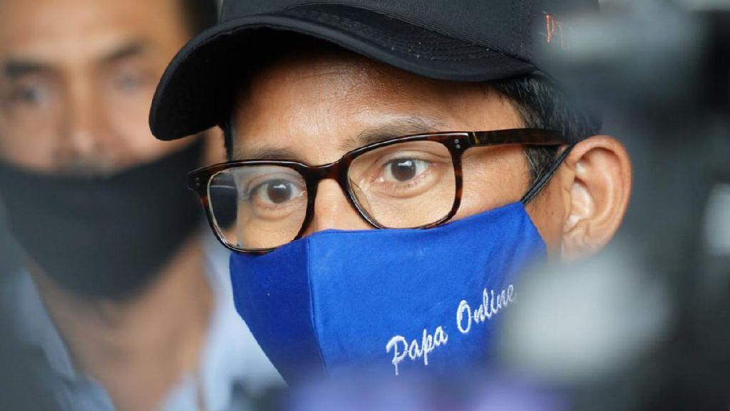 Sandiaga Sebut 9,77 Juta Orang Kehilangan Pekerjaan Akibat Pandemi Corona