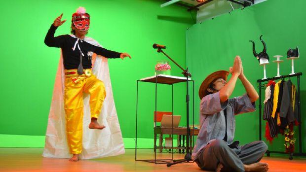 Teater Garasi Performance Instute Buat Ruang Pertunjukan Virtual