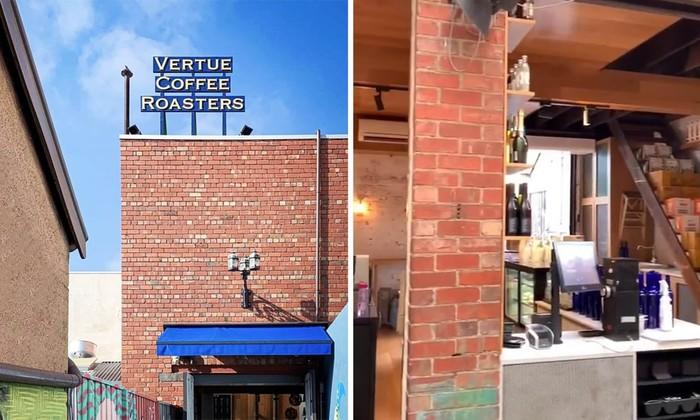 Wow! Kafe Keren Ini Tersembunyi di Balik Tempat Sampah