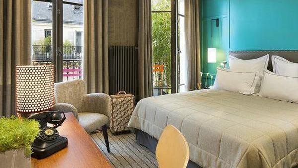 Hotel Signature St Germain des Pres, Paris Berlokasi di jantung kota Paris, sebuah rumah telah direnovasi total dengan dekorasi yang unik dalam suasana hangat dan elegan. (TripAdvisor)