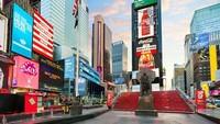 Crowne Plaza Times Square membuat Times Square di New York terlihat lebih menarik. Penginapan ini memiliki 795 kamar yang dilengkapi dengan aksen kontemporer dengan pemandangan kota uang indah. (TripAdvisor)