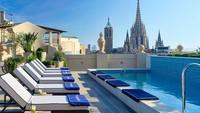 H19 Madison terletak di jantung kota Barcelona. Hotel bintang empat ini memiliki berbagai kamar-kamar yang elegan hingga teras yang indah. (TripAdvisor)