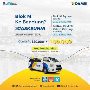 Damri Indonesia luncurkan trayek baru untuk wisatawan dari Blok M ke Bandung