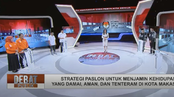 Debat Pilwalkot Makassar 2020 (dok. Istemwa)