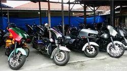 5 Moge Bodong Anggota Klub Harley Pengeroyok TNI Diserahkan ke Bea-Cukai