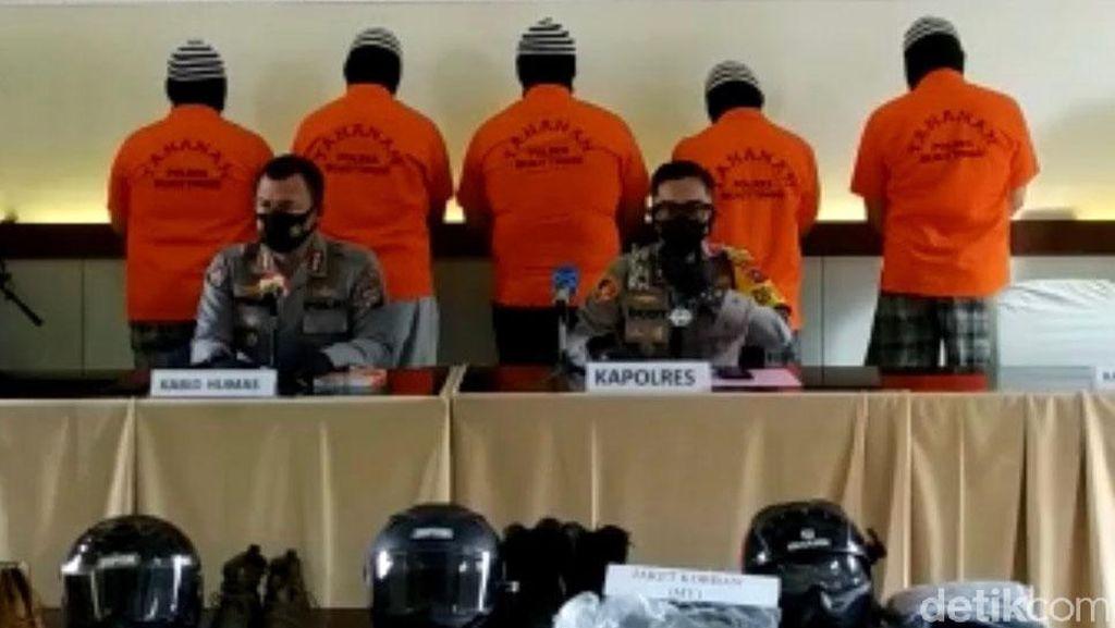 ABG Anggota Moge Keroyok TNI Segera Disidang, Berkas 4 Tersangka Perbaikan
