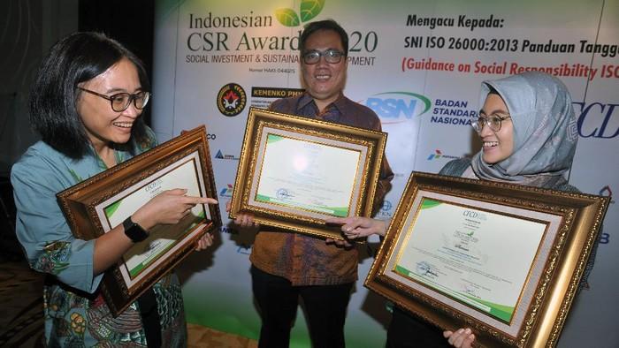 PT Kaltim Prima Coal (KPC) memborong penghargaan Indonesia CSR Award (ICA) sebanyak 9 platinum, 2  gold dan 1 penghargaan Individu Masyarakat Mitra Perusahaan Terbaik.