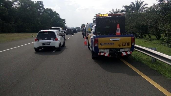 Kecelakaan di Km 41 Tol Jagorawi arah Bogor
