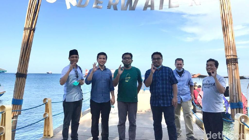 Wagub Emil Dardak Kunjungi Bangsring Underwater Banyuwangi, Ini Harapannya