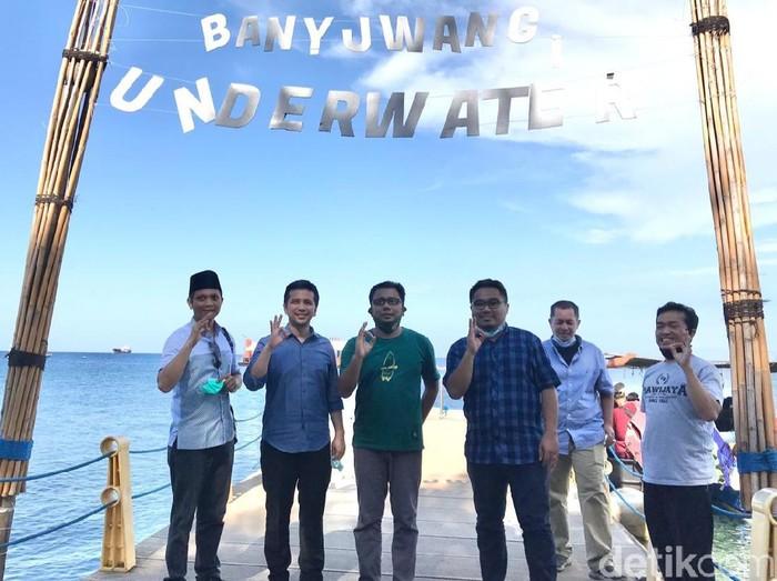 Kunjungi Bangsring Underwater Banyuwangi, Emil Dardak Minta Pesisir Jatim Lebih Dimanfaatkan Dengan Baik