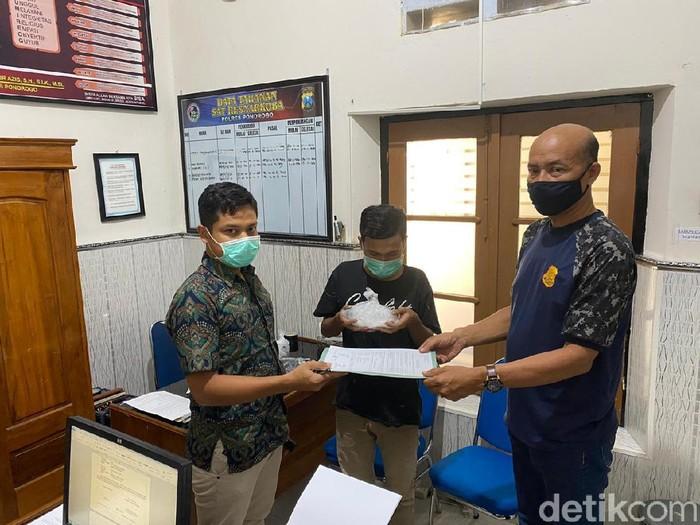Kurir Pengantar Narkoba di Rutan Ponorogo Ditetapkan Jadi Tersangka