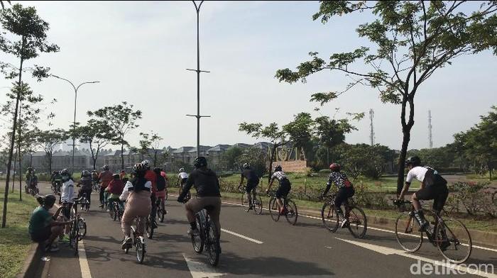 5 Jalur Sepeda di Tangsel dan sekitarnya
