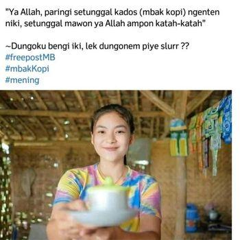 Seorang gadis di Bojonegoro, Lailatus Zuriah (18), kini tengah menjadi perhatian. Ia viral saat membantu ibunya berjualan kopi.