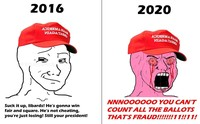Meme Trump Kalah Pilpres