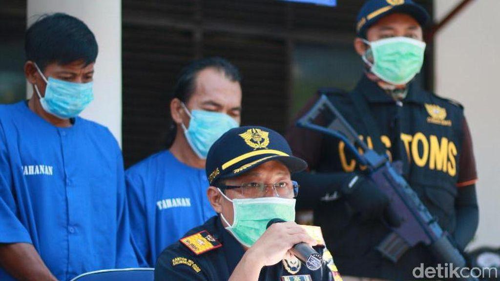 Modus Penyelundupan Sabu di Kaltara: Masuk Tabung Gas-Dilarut ke Air