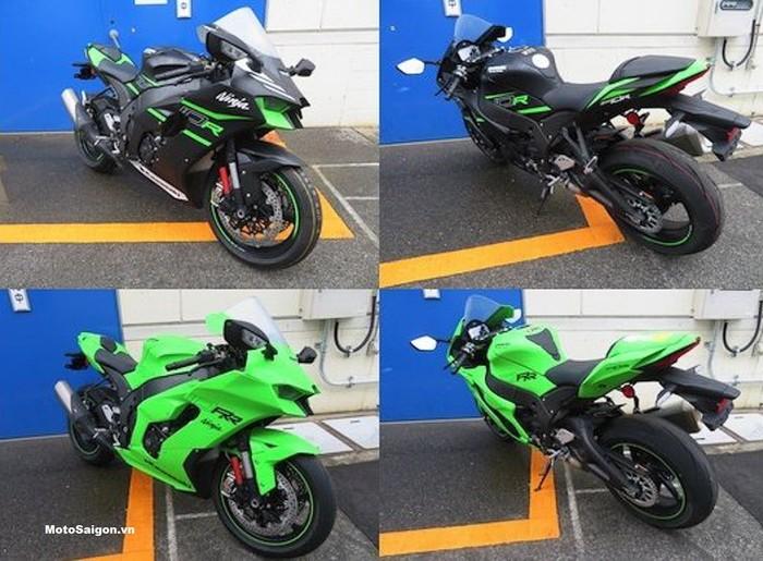 Bocoran foto Kawasaki Ninja ZX-10R dan ZX-10RR 2021