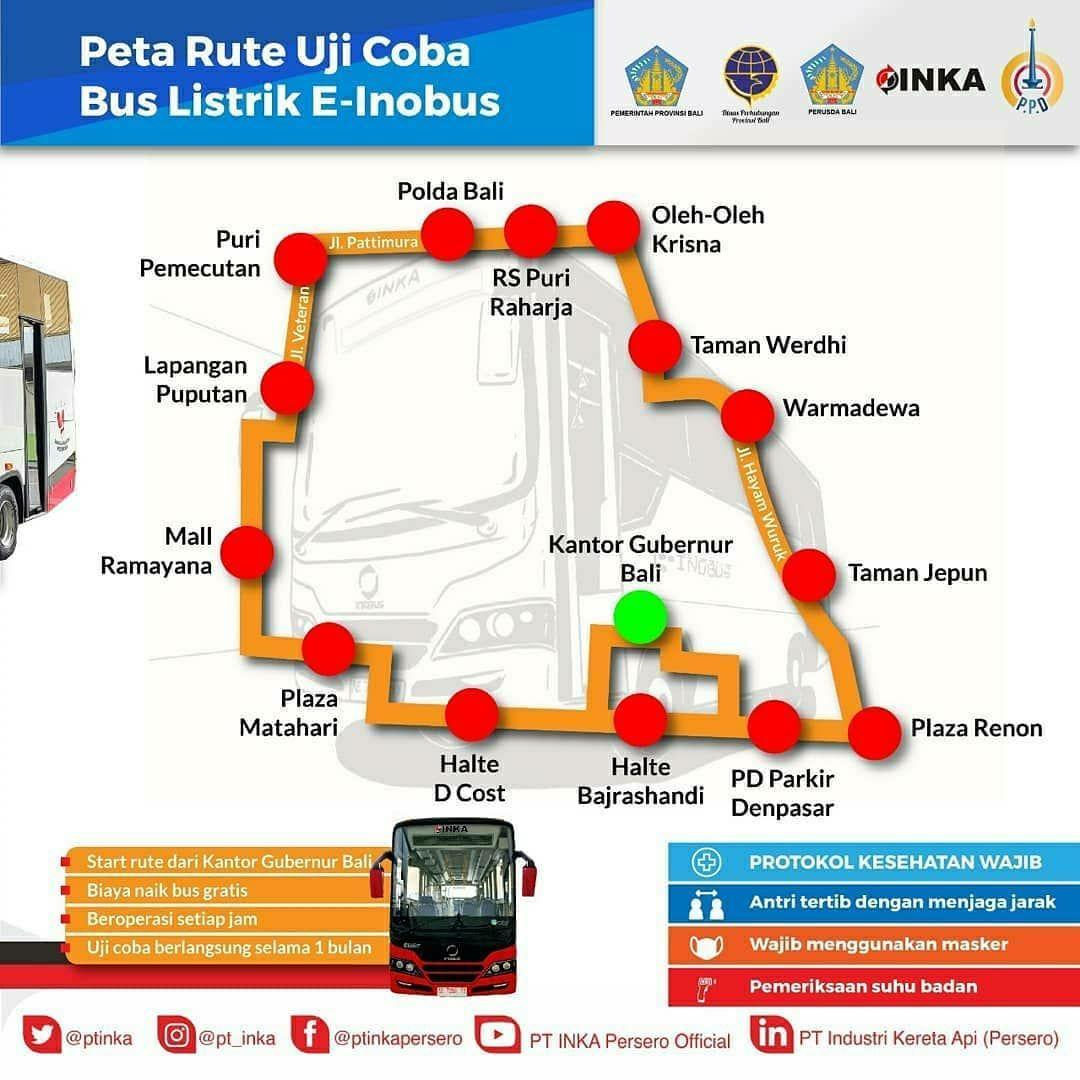 Bus listrik Bali