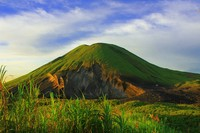 Cagar Biosfer Bunaken Tangkoko Minahasa. Cagar biosfer mencakup total 746.405,92 hektar habitat darat dan laut.