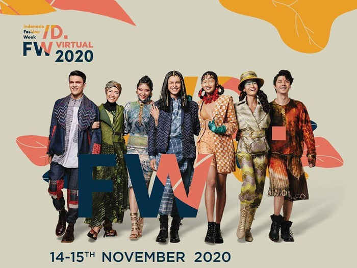 Indonesia Fashion Week 2020 akan digelar secara virtual