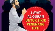 5 Bacaan Zikir Penenang Hati