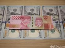 Dolar AS Perkasa Lagi ke Level Rp 14.476