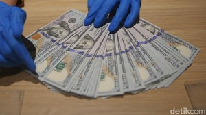 Menguat Lagi! Dolar AS Tekan Rupiah ke Rp 14.105