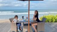 Kompaknya Jessica Iskandar dan El Barack Saat Makan Bareng di Bali