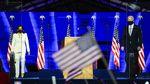 Momen Biden-Harris Saat Pidato Kemenangan