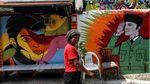 Mural Pesan Sosial di Sunter Keren-keren Banget Gaes