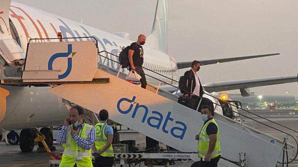 Pesawat Pertama Bawa Turis Israel Mendarat di Uni Emirat Arab
