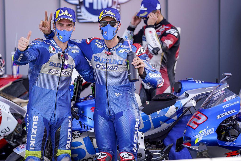 Suzuki Berjaya di MotoGP