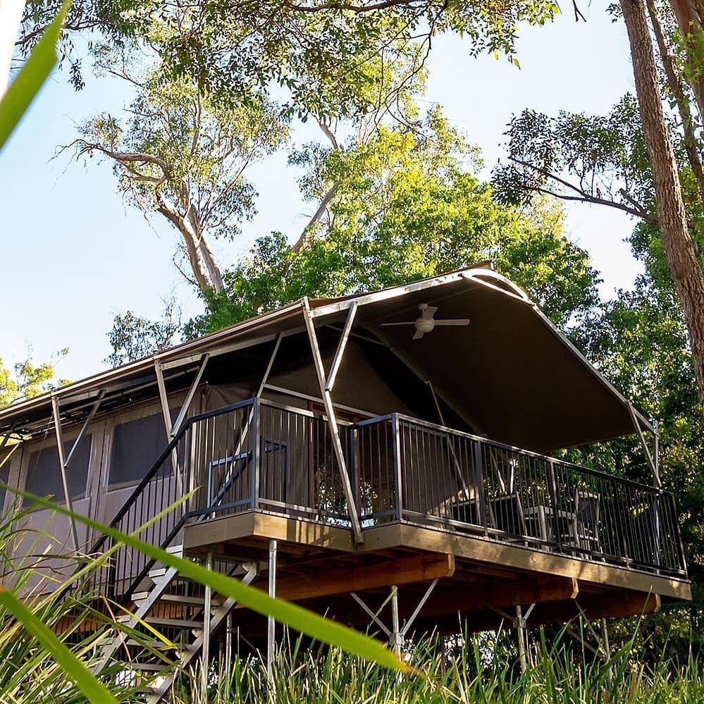 Tempat glamping keren di Queensland