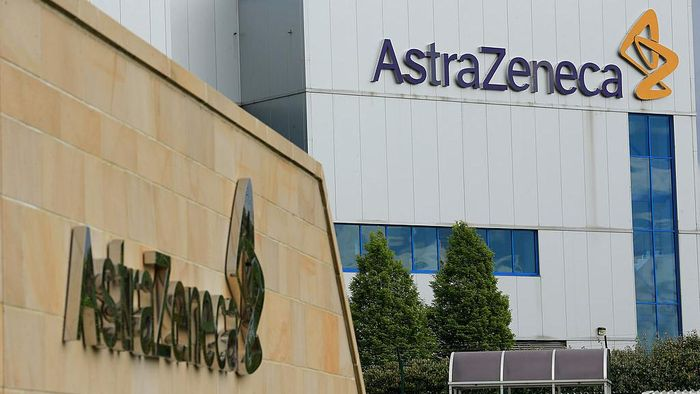 MACCLESFIELD, CAMBRIDGESHIRE - MAY 07:  A general view of buildings and signage at the Macclesfield Campus of pharmaceutical company AstraZenica on May 7, 2014 in Macclesfield, United Kingdom. The proposed takeover by American pharmaceutical giant Pfizer of its British rival AstraZeneca has led to the UK Business Secretary Vince Cable addressing Parliament to affirm the governments commitment to securing British science jobs.  (Photo by Christopher Furlong/Getty Images)